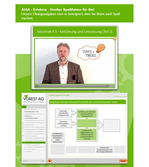 E-Learning Kurs Energiemanagement ISO 50001